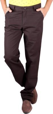 Claim Regular Fit Men's Brown Trousers