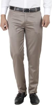 Smoky Regular Fit Men's Brown Trousers