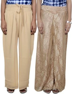 Tullis Regular Fit Women's Beige, Beige Trousers
