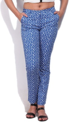 Allen Solly Womens Blue Trousers