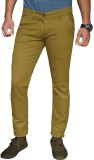 Lag Jeans Slim Fit Men's Yellow Trousers
