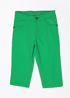 Gini & Jony Slim Fit Baby Boys Green Trousers