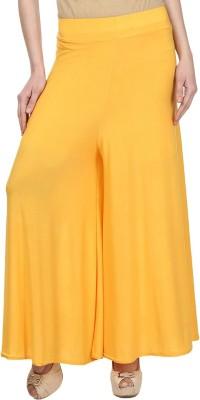 Esszee Regular Fit Women's Yellow Trousers
