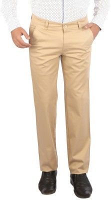 Appollo Slim Fit Men's Beige Trousers