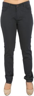 Airwalk Slim Fit Women's Dark Blue Trousers