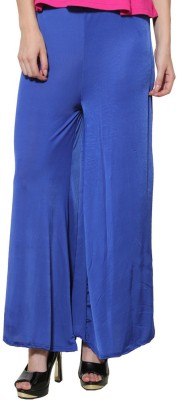 Both11 Regular Fit Womens Blue Trousers