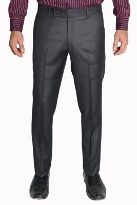 legato Slim Fit Men's Grey Trousers