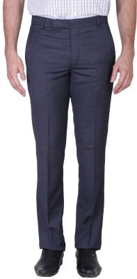 MINDITDADDY Slim Fit Men's Blue Trousers