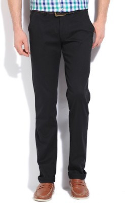 Killer Slim Fit Men,s Black Trousers