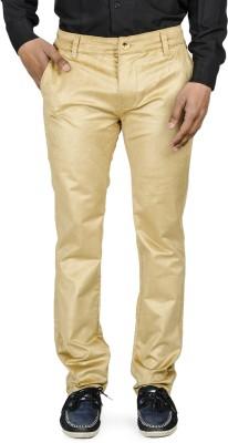 Blimey Slim Fit Men's Beige Trousers