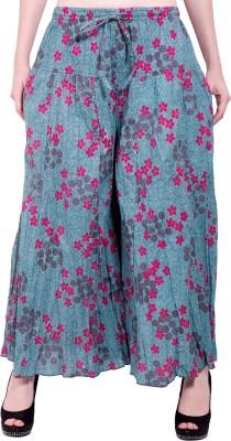 Tuntuk Regular Fit Women's Grey Trousers