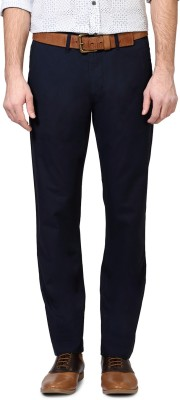 Van Heusen Regular Fit Men's Dark Blue Trousers