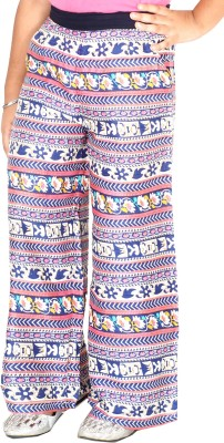Naughty Ninos Slim Fit Girl's Multicolor Trousers