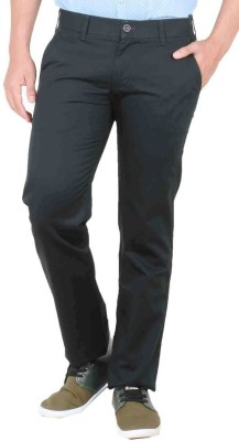 Easies Slim Fit Men's Blue Trousers