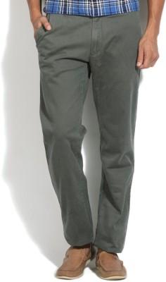 Gant Regular Fit Men's Grey Trousers