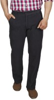 Park Avenue Regular Fit Mens Grey Trousers