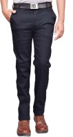 British Terminal Slim Fit Mens Blue Trousers