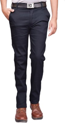 British Terminal Slim Fit Mens Blue Trousers