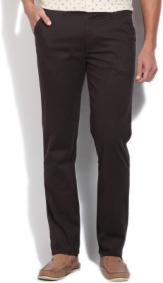 Killer Slim Fit Men,s Brown Trousers