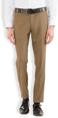 Black Coffee Regular Fit Men's Green Trousers