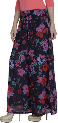 Glambing Regular Fit Women's Multicolor Trousers