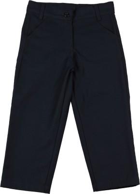 Aomi Regular Fit Baby Boy's Dark Blue Trousers