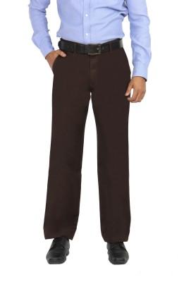 Modo Regular Fit Men's Brown Trousers