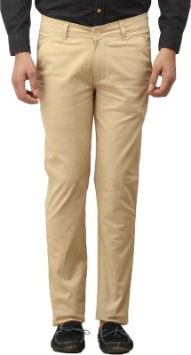 Stylz Regular Fit Men's White Trousers