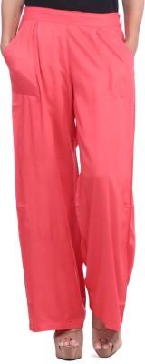 JaipurKurti Regular Fit Women's Pink Trousers