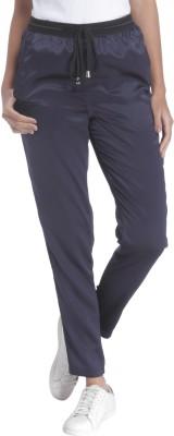 Vero Moda Solid Women's Blue Track Pants at flipkart