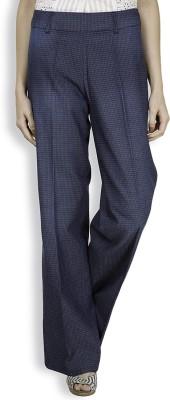 Tokyo Talkies Regular Fit Women's Dark Blue Trousers