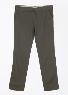 Killer Regular Fit Men,s Brown Trousers