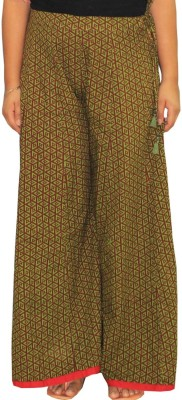Chhipaprints Regular Fit Women's Dark Green Trousers
