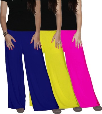 Xarans Regular Fit Women's Multicolor Trousers