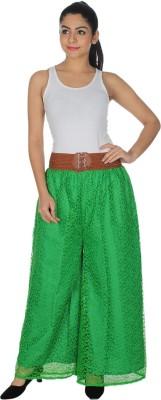 Dimpy Garments Regular Fit Women's Green Trousers
