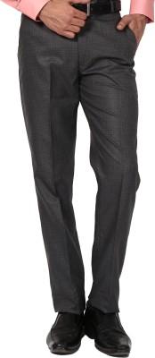 Bellavita Regular Fit Men's Grey, Blue Trousers