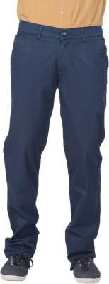 AUSSUM Regular Fit Men's Blue Trousers