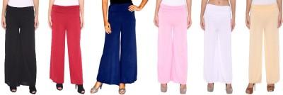 Zadine Regular Fit Women,s Multicolor Trousers