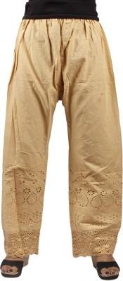 Taraz Regular Fit Women's Beige Trousers