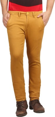 FN Jeans Slim Fit Men's Orange Trousers