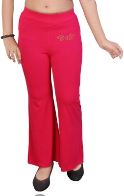 Mint Regular Fit Girl's Pink Trousers