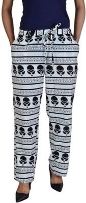 Jhoomar Regular Fit Women's Multicolor Trousers