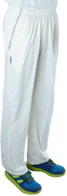 GM Slim Fit Men's White Trousers