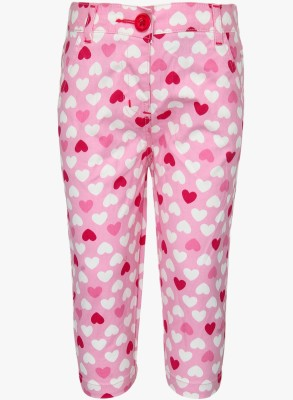 Baby League Regular Fit Baby Girl's Pink Trousers