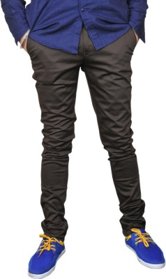 Nation Polo Club Slim Fit Men's Dark Green Trousers