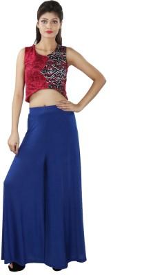 Figaro Regular Fit Women's Dark Blue Trousers