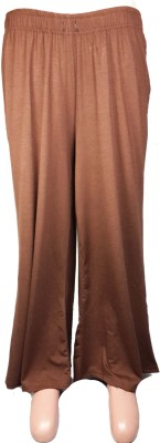 Bluedge Regular Fit Women's Brown Trousers