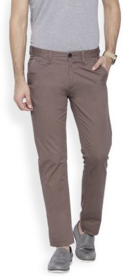 OFFLINE Slim Fit Men,s Grey Trousers