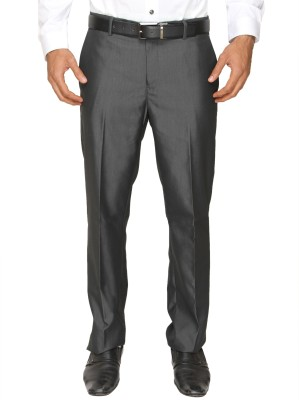 Springfield Slim Fit Men's Black Trousers