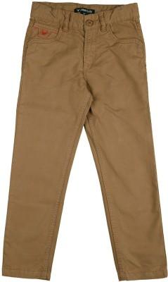 Allen Solly Regular Fit Boy,s Beige Trousers